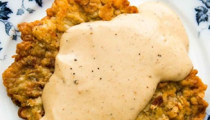 Crispy & Creamy Chicken Fried Steak in the Texas Hill Country