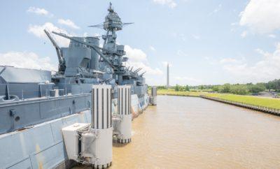 Battleship Texas Leaving San Jacinto Battleground Permanently