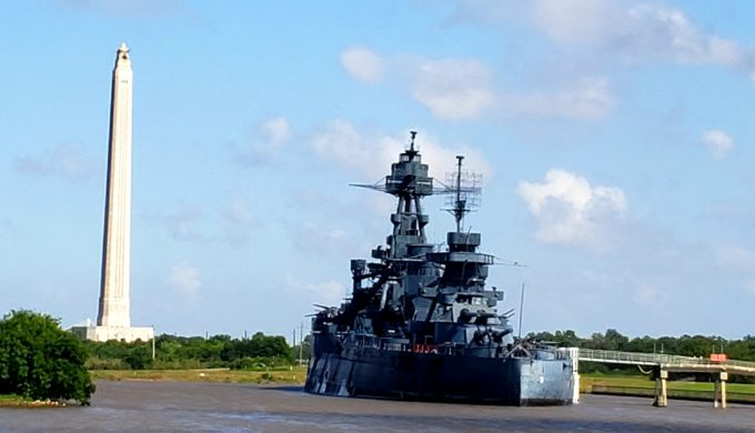 Battleship Texas Leaving San Jacinto Battleground Permanently