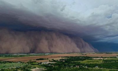 Giant Texas Haboob Sends Wall of Dust Through Lubbock