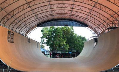 Largest Skateboarding Vert Ramp in Texas Constructed in Houston Backyard