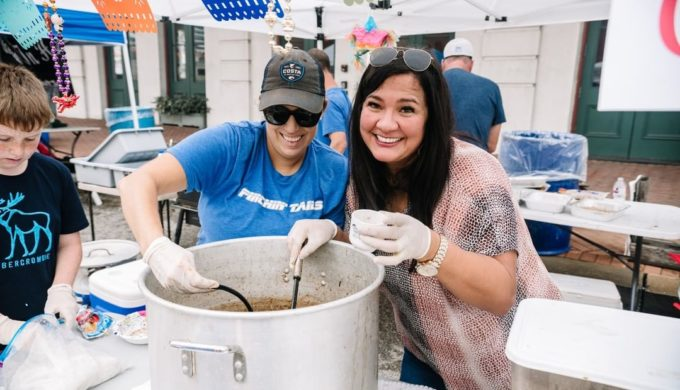 Galveston Island Shrimp Festival Serves Up Endless Shrimp & Gumbo