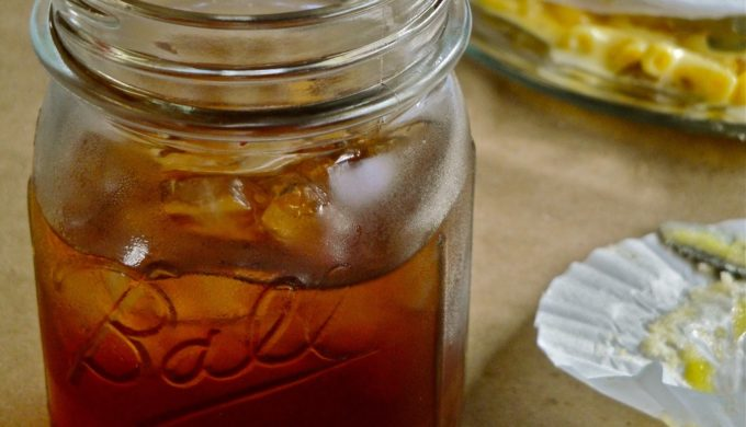 The Perfect Glass of Deliciously Homemade Sweet Iced Tea