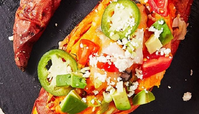 Twice-Baked Sweet Potatoes Are Your New Carb-y Best Friend