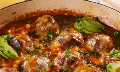 Enchilada Meatballs are Making Meatballs Fun Again