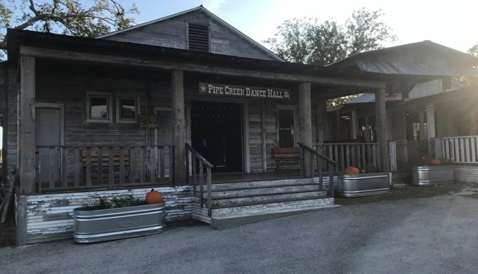 Restored! The Pipe Creek General Store and Dance Hall