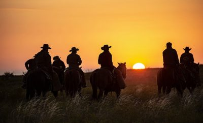 State Photographer of Texas Gives Glimpse of Real Cowboy Life