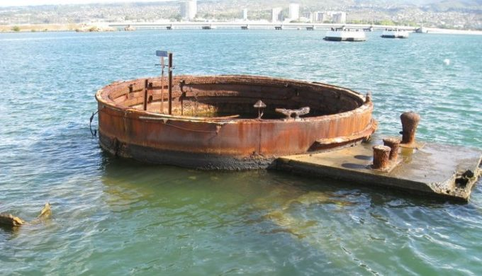 800-lb Piece of the USS Arizona Headed to the Texas Panhandle War Memorial