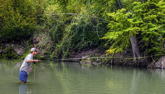 7 fishing spots in the hill country texas hill country for Lake san marcos fishing