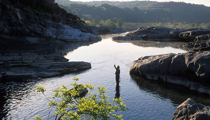 7 fishing spots in the hill country texas hill country for Best places to fish in california