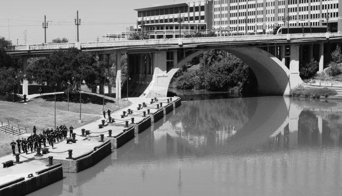 Touring Houston's Buffalo Bayou By Pontoon: A Different Perspective