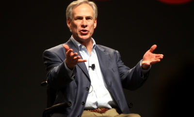 Texas Gov. Abbott: 1,2,3,4 He Declares a Twitter War