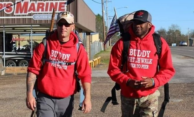 These Veterans are Walking Across the U.S. to Help Other Veterans