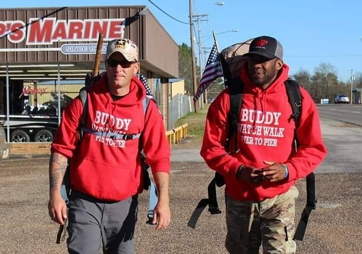These Veterans Are Walking Across The U S To Help Other