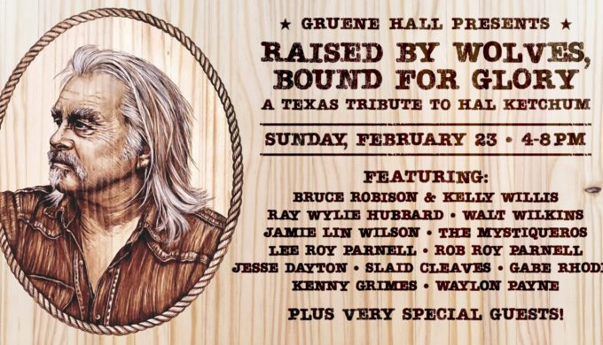 A Texas Tribute to Hal Ketchum is Planned for Gruene Hall