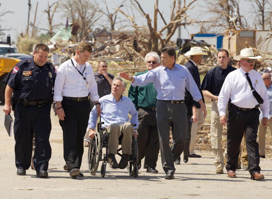 Governor Abbott Tornado Damage