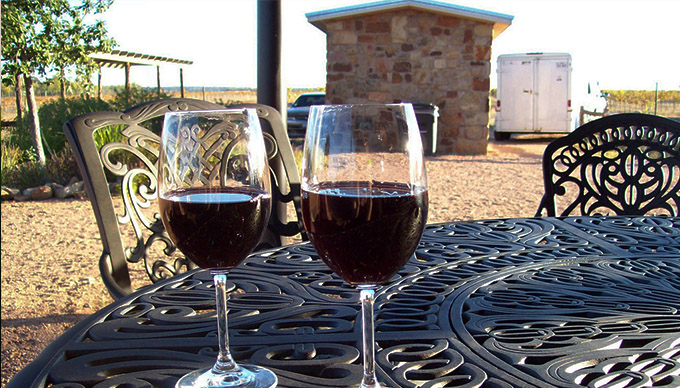10 unique wineries in the texas hill country