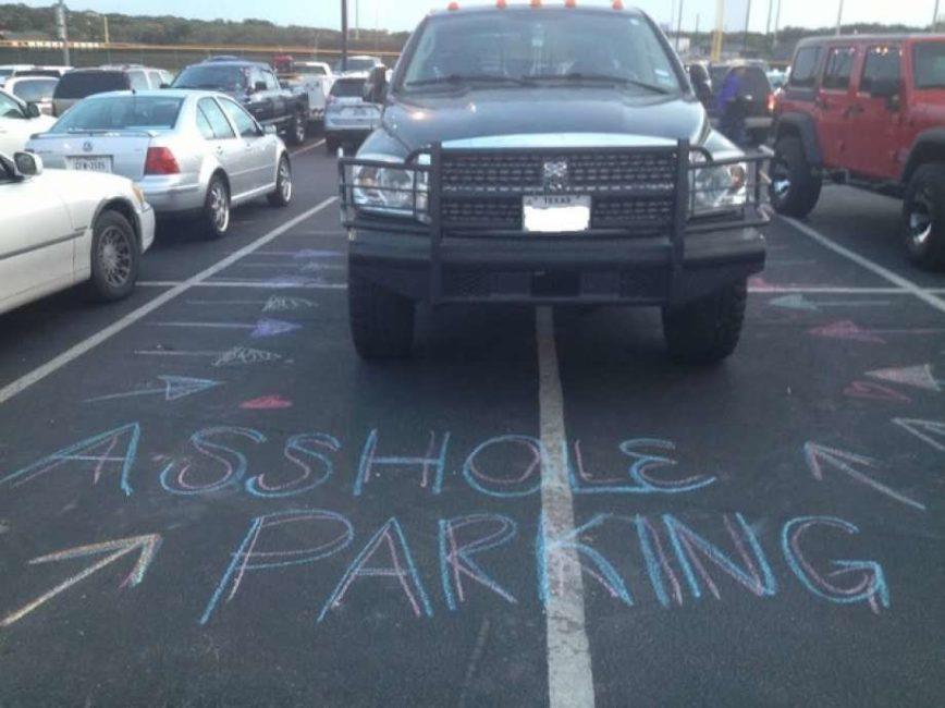 parking job