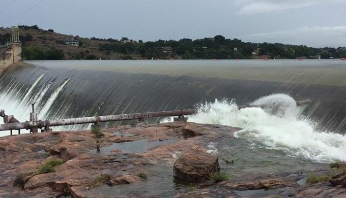 A Dam at Inks Lake State Park