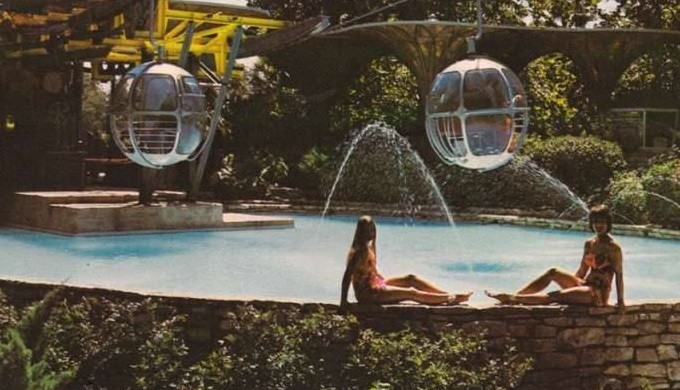 A Postcard from 1960s Aquarena Springs