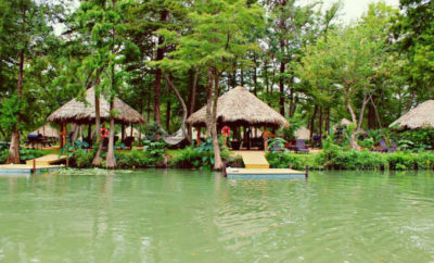 Son's Island: Glamping On A Tropical Oasis Deep in the Heart of Texas