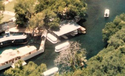 Aerial View from the Gyro Tower in 1984 Aquarena Springs