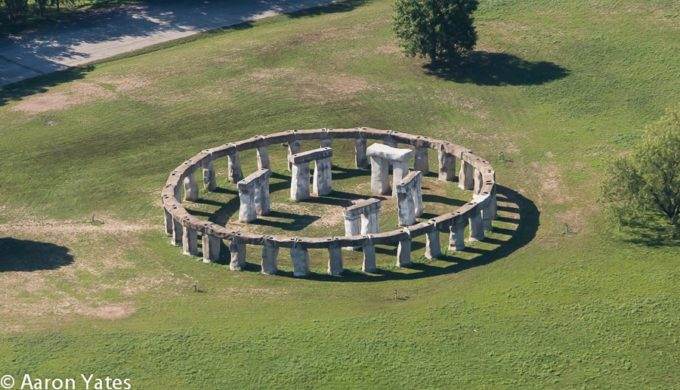 Aerial View of Stonehenge II