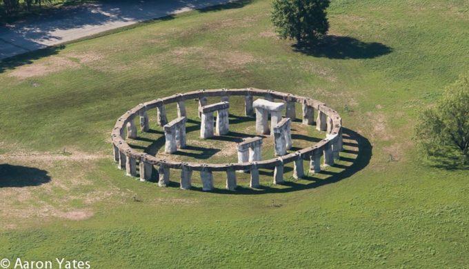 Aerial View of Stonehenge II