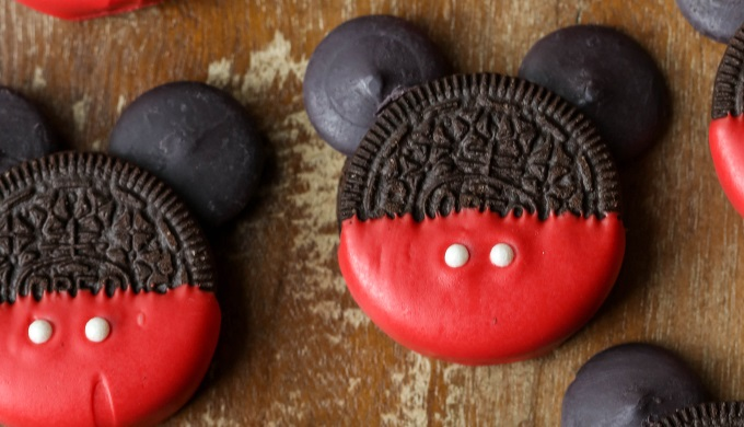After School Snack Recipes Mickey Mouse Oreos