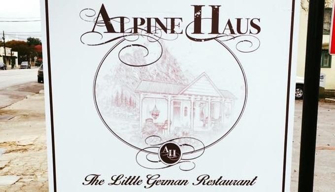 Alpine Haus German Restaurant