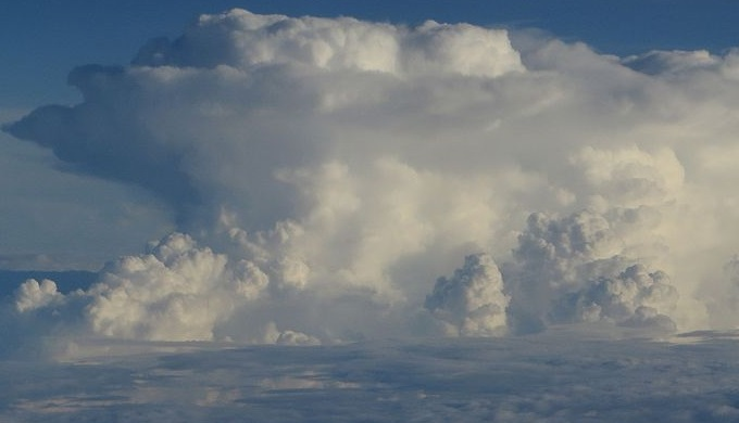 Anvil Shaped Thundercloud