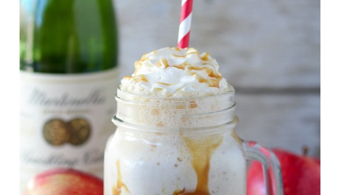 Apple Cider Recipes Caramel Apple Cider Floats