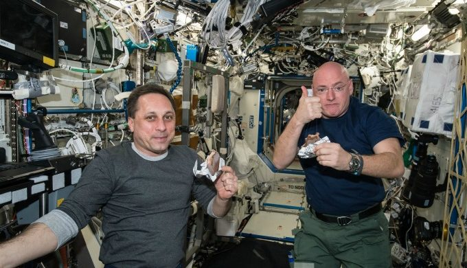 Astronauts Space Station