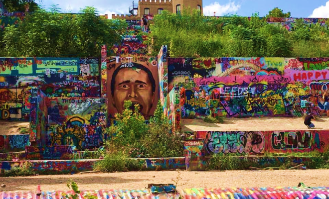 'Graffiti Park' in Austin has Been Scheduled to be Demolished
