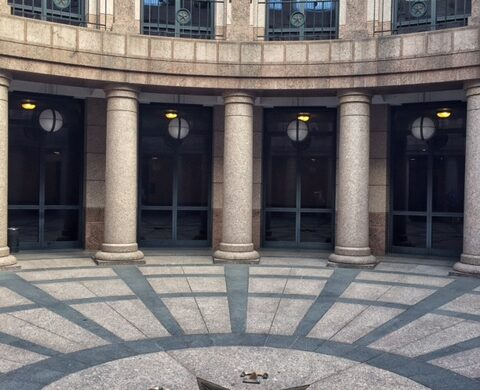 Open Air Rotunda of Texas State Capitol