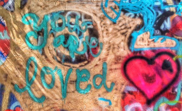 Graffiti at HOPE Outdoor Gallery