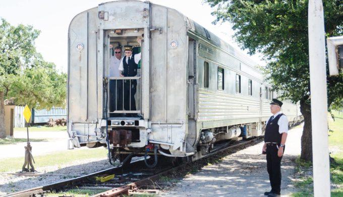 Austin Steam Train Association's Train Travels Most Weekends