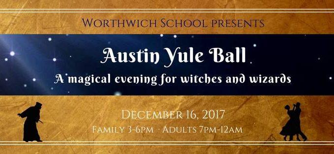 Austin Yule Ball for Worthwich School