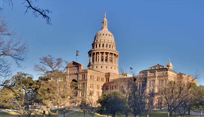 Austin's capitol was almost built of limestone