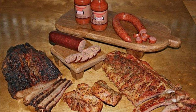 BBQ in The Texas Hill Country