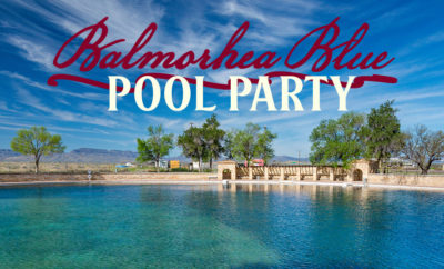 Balmorhea Blue Pool Parties: Garrison Brothers Distillery Announce 'Good Bourbon for a Good Cause'