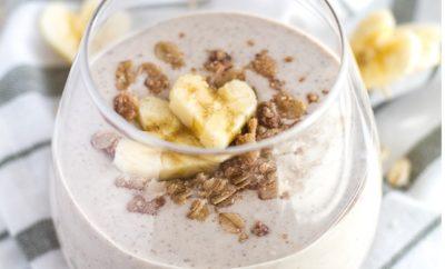 Banana Oat Breakfast Smoothie Recipes