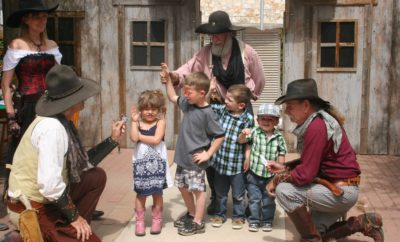 Bandera Cowboys on Main Street is a great chance for kids to see cowboys