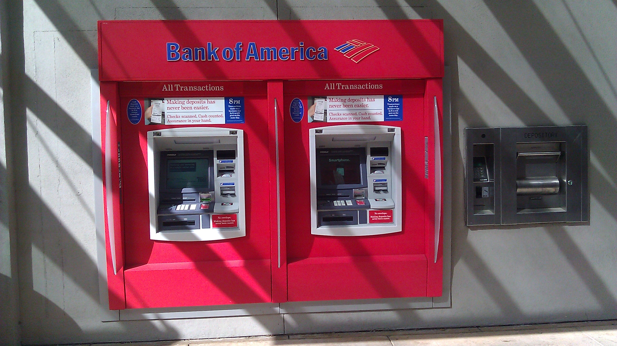 bank of america atm downtown indianapolis