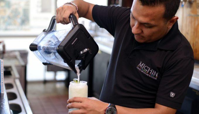 Bartender making Tita Marg