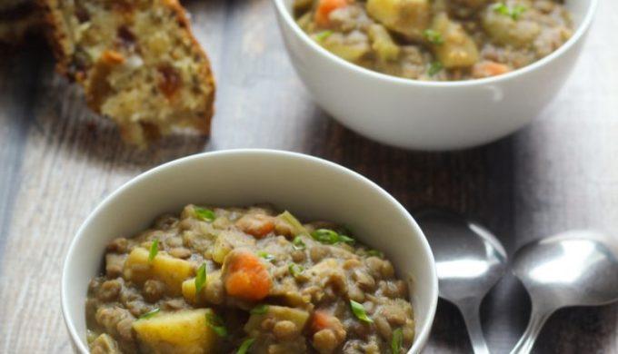 Bavarian Lentil Soup