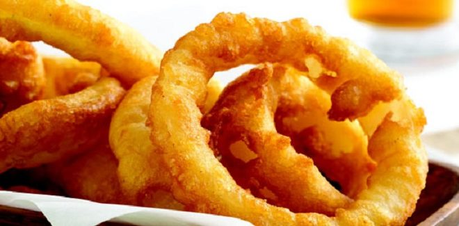 Grab a Stack for National Onion Ring Day