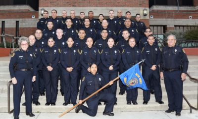 Thin Blue Line Bexar County Sheriff's Academy Class 2016-H Graduates