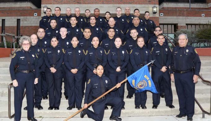 Thin Blue Line Bexar County Sheriff's Academy Class 2016-H Graduates
