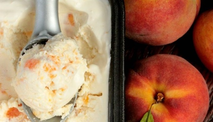 recipes Big Bear's Wife Peach No Churn Ice Cream